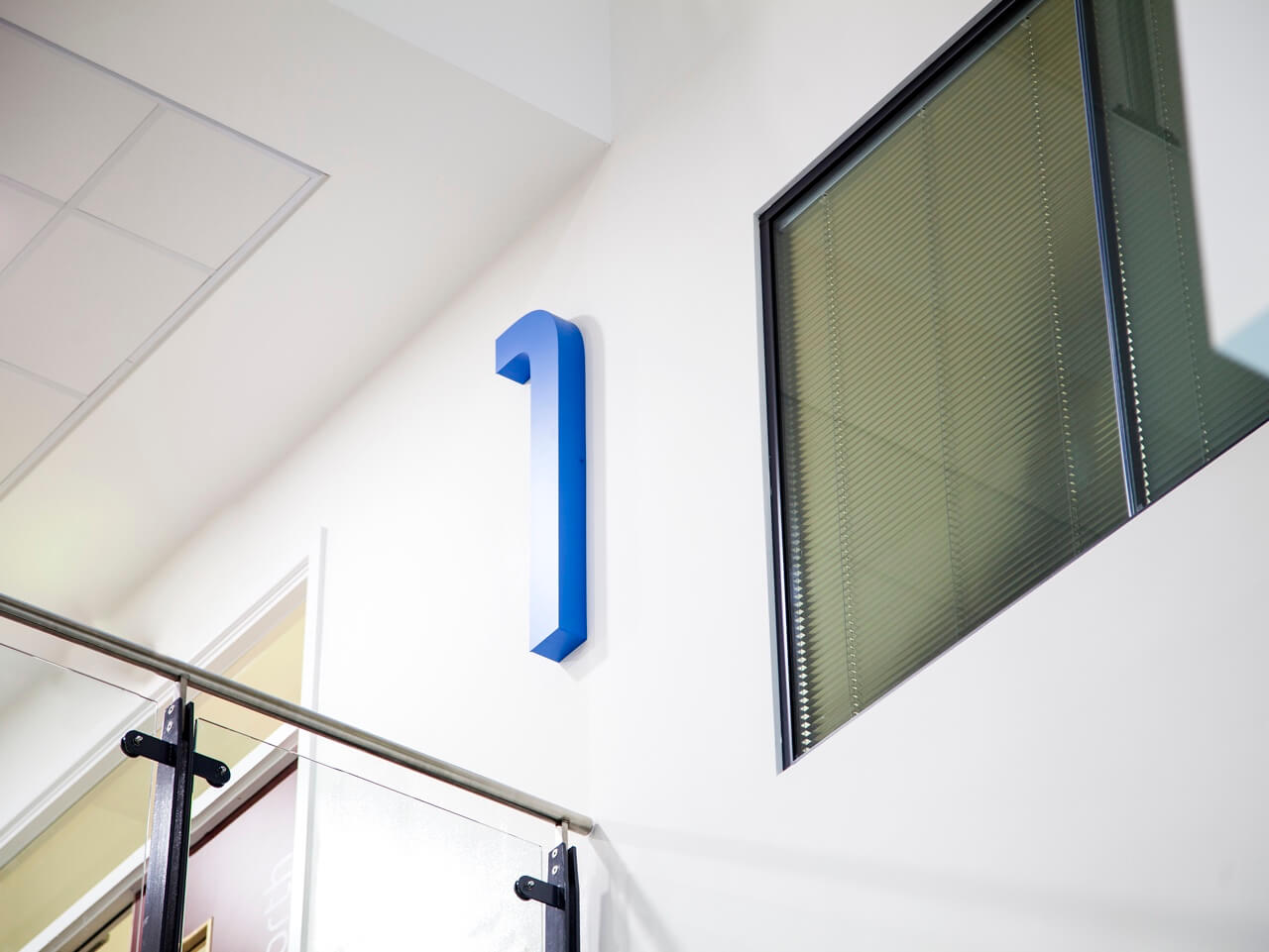 3D signage and wayfinding at Rochdale College