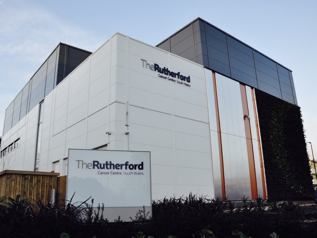 External signage at Rutherford Cancer Centres