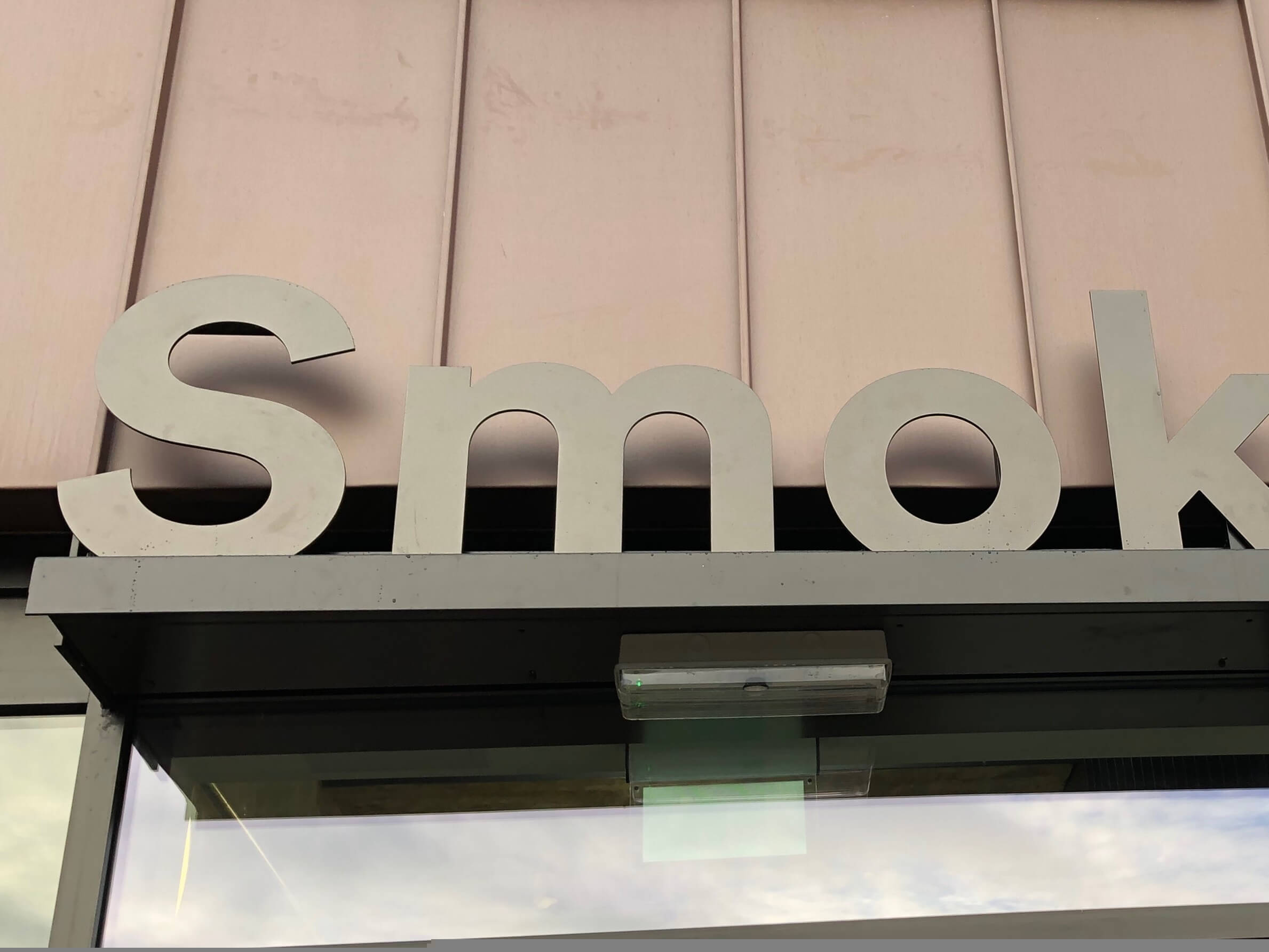 Smokehouses wayfinding and signage