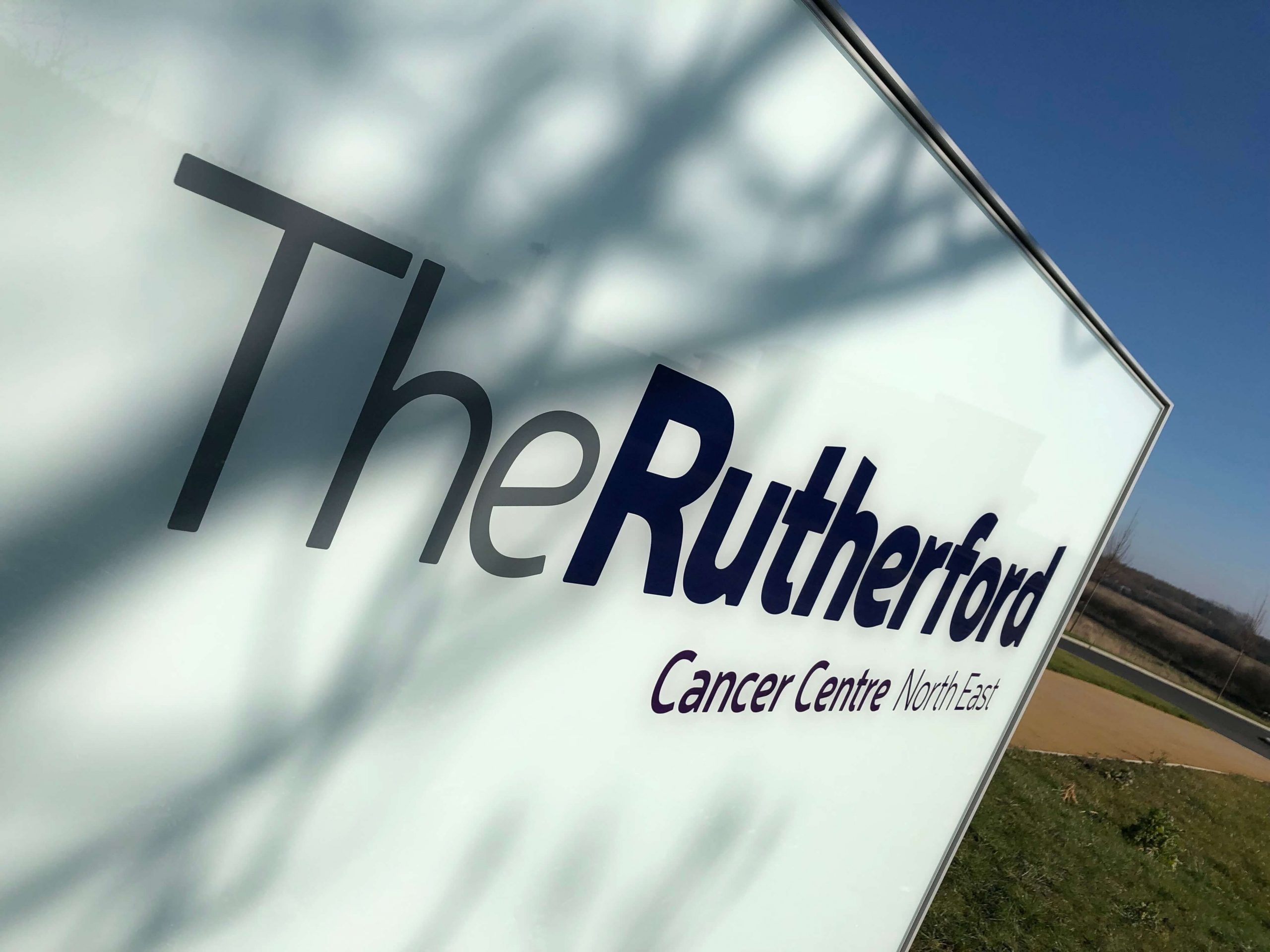 Rutherford Cancer Centre wayfinding by Picto