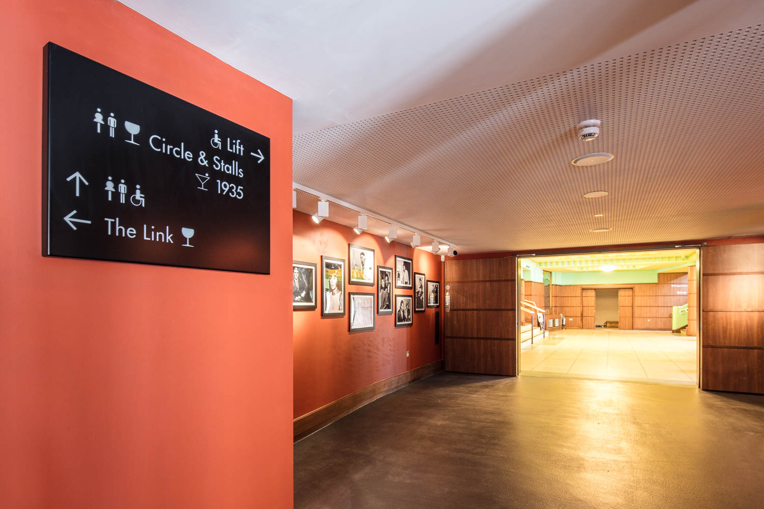 wayfinding within The Link